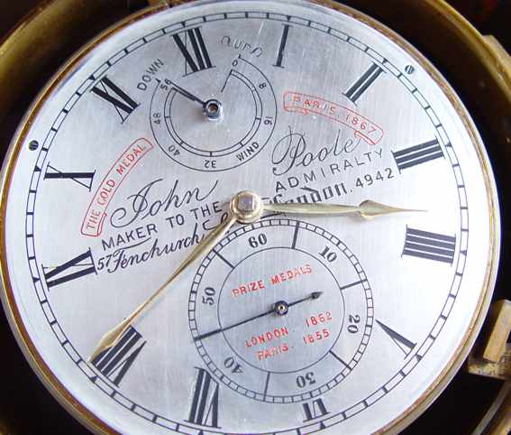 Marine Chronometer John Poole, London, # 4942