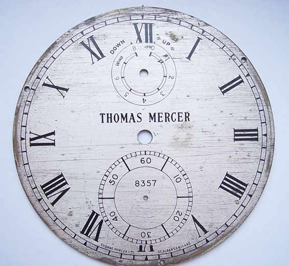 8 Day Marine chronometer dial / Tomas Mercer # 8357