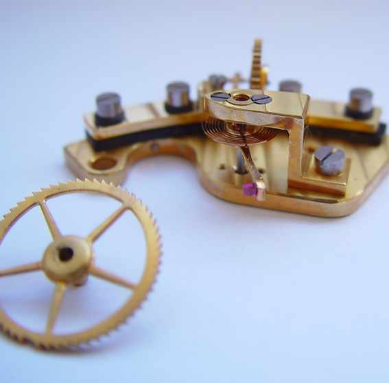 Marine chronometer Kirov, Poljot / Electrical contact.
