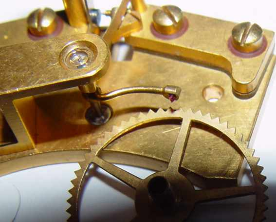 Marine chronometer GUB  , Glashutte  / Electrical contact.