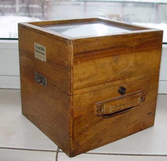 Box for marine chronometer LANGE & SOHNE