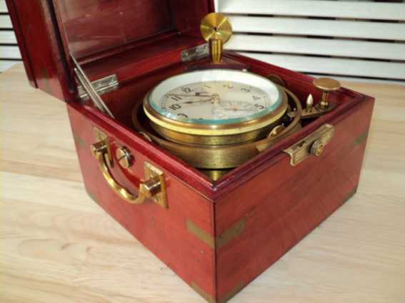 Russian  marine ship chronometer ?POLJOT?