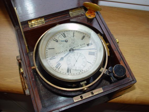 Marine Ship Chronometer WILLAM FARQUHAR Y/4 London .RARE!!!!