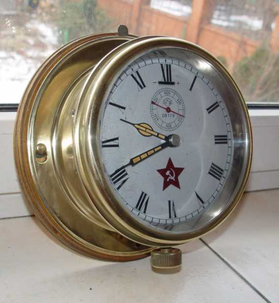 The captain cabin ship clock # 08179. Are made in USSR.