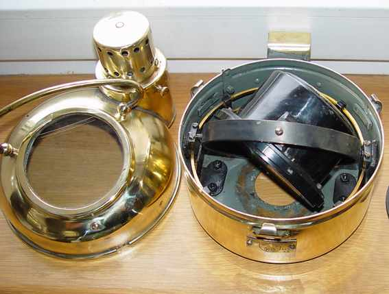 Marine compass #33786 . is made in USSR