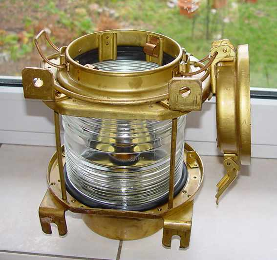 Military Marine Ship lamp. White light.