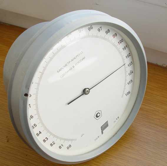 Marine Barometer 79 / is made in Russia / Barograph
