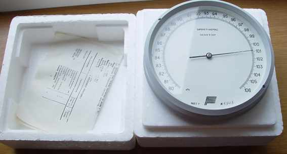 Marine Barometer / is made in Russia / Barograph . NEW!!