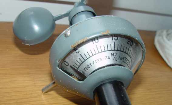 Anemometer #3175. is made in USSR.