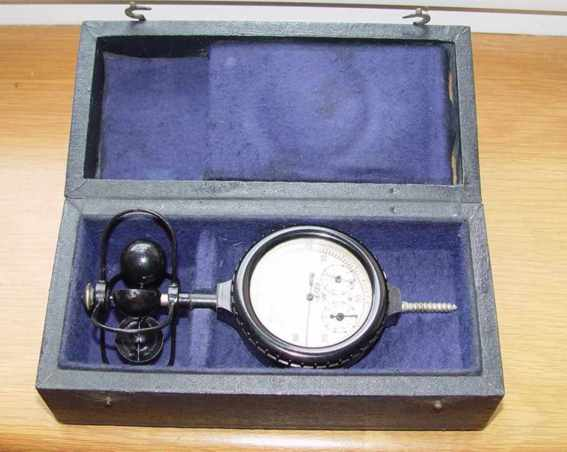 Anemometer #8186. is made in USSR.