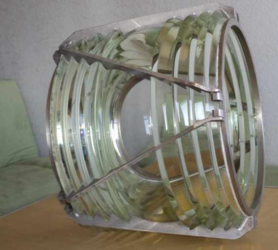 FRESNEL LENS from the old beacon