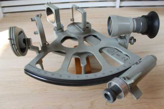 Germany sextant ?FREIBERGER? serial number #  762148